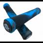 Revolution 172mm Fused Pro Scooter Grips - Black / Blue