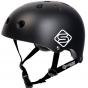 Skates.co.uk ABS Skate Helmet - Black / White