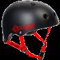 Skates.co.uk ABS Skate Helmet - Black / Red