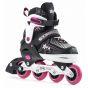 B-STOCK SFR Pulsar Adjustable Inline Skates - Pink UK12J-2