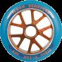 Slamm V Ten 110mm Scooter Wheel - Blue / Orange