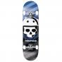 """Rampage Bonehead 8"""" Complete Skateboard - Blue"""