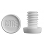 Core Standard Sized Bar Ends - White