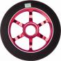 Logic 6 Spoke 110mm Scooter Wheel - Black / Red