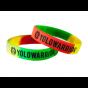 YoloWarrior Scooter Wristband - Rasta