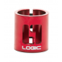 Logic HIC Double Scooter Clamp - Red