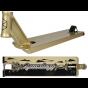 """Native Advent V2 Gold Pro Stunt Scooter Deck 21.5"""" x 5.5"""" - Saundezy"""