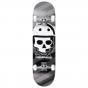 "Rampage Bonehead 8"" Complete Skateboard - Black"