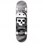 "Rampage Bonehead 7.75"" Complete Skateboard - Black"