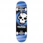 "Rampage Graffiti Skull 8"" Complete Skateboard - Blue"