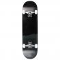 "B-STOCK Rampage Plain Third 8"" Complete Skateboard - Black"