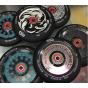 Infinity Mayan 120mm Black / White Scooter Wheel