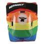 Deadbolt Grand Slam Derby Kneepads - Rainbow