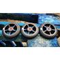 Logic 5 Spoke 100mm Scooter Wheel - Black / Black