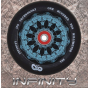 Infinity Mirror 110mm Teal Scooter Wheel