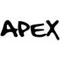 Apex Logo Sticker - Black