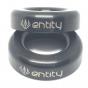 Entity Halo Titanium Bar Ends - Black