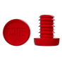 Core Standard Sized Bar Ends - Red