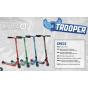 Dominator Trooper Complete Scooter - Black / Red