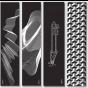 """Drone Scooter Escher Griptape – 21"""" x 5"""""""