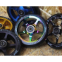 Drone Luxe Series 110mm Scooter Wheel - Black / Neochrome