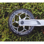 Fasen Chrome Silver Polished 120mm Scooter Wheels