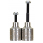 Infinity Stainless Steel Scooter Pegs - Silver