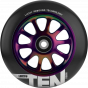 Lucky Ten 110mm Scooter Wheel - Black / Neochrome