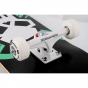 "Rampage Critical Skull 8"" Complete Skateboard - Black"