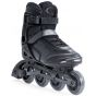 SFR Air X-Pro 80 Black Silver Adult Inline Skates / Rollerblades