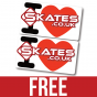 Scooter Skates Sticker Pack