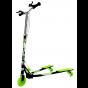 Ozbozz Foldable Scissor Scooter - Black / Green