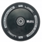 Logic Hollow Lite Black 110mm Scooter Wheels inc. ABEC 11 Bearings