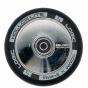 Logic Hollow Lite Chrome Silver 110mm Scooter Wheels inc. ABEC 11 Bearings