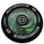 Logic Hollow Lite Vortex Green 110mm Scooter Wheels inc. ABEC 11 Bearings