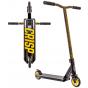 Crisp Blaster Mini 2020 Stunt Scooter - Black / Gold Cracking