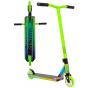 Crisp Surge 2020 Complete Stunt Scooter - Neochrome Oil Slick / Green