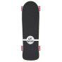 "Osprey Mini Cruiser Checkers Skateboard - Black - 27"""