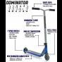 Dominator Ranger 2021 Complete Scooter - Teal / Black