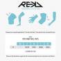 REKD Pro Ramp Knee Pads - Black