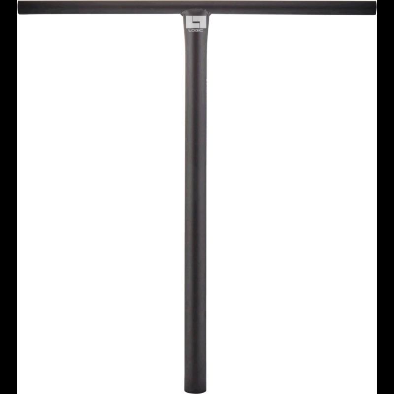 B-STOCK Logic Streetz Steel Oversized HIC / SCS T Scooter Bar - Black - 660mm x 635mm