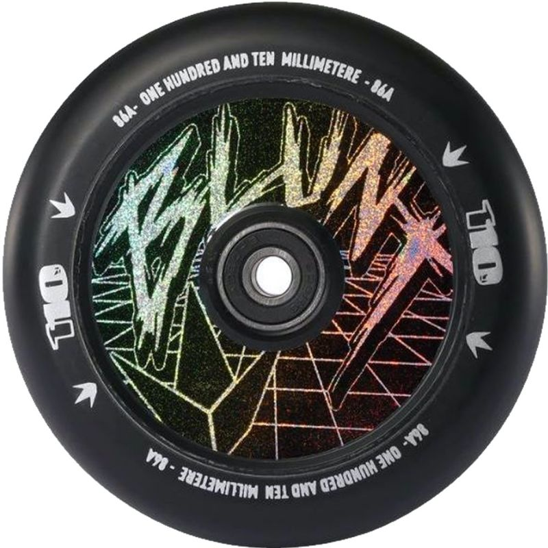 Blunt Envy Classic Hologram 120mm Hollow Core Scooter Wheels