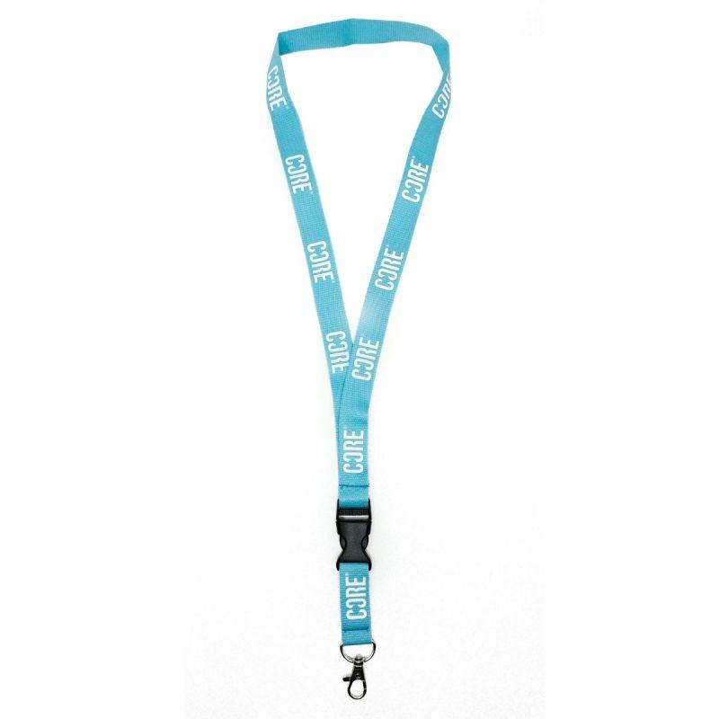 CORE Lanyard Keychain – Blue / White
