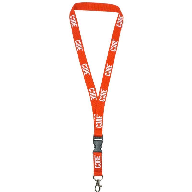 CORE Lanyard Keychain – Red / White