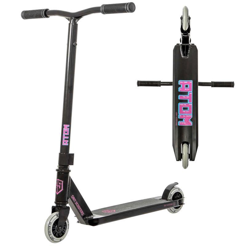 Grit Atom Black 2021 Stunt Scooter - 2 Height Bar