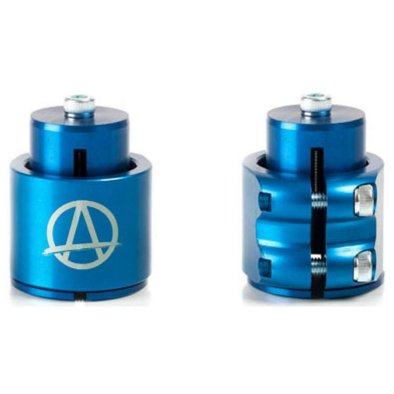 Apex Blue Double Scooter Clamp & HIC Kit
