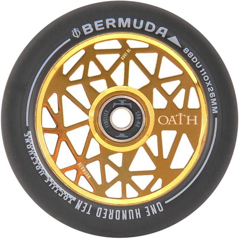 Oath Bermuda 110mm Scooter Wheel - Neo Gold