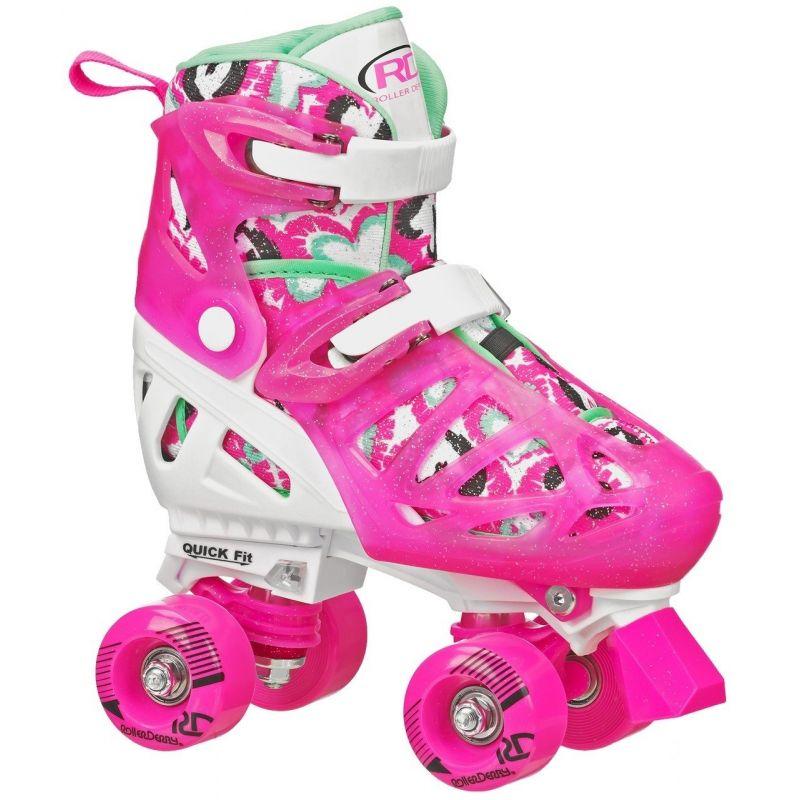 Roller Derby Trac Star V2 Adjustable Quad Skates - Girls