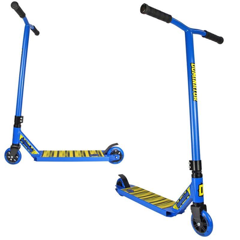Dominator Cadet Complete Pro Stunt Scooter - Blue
