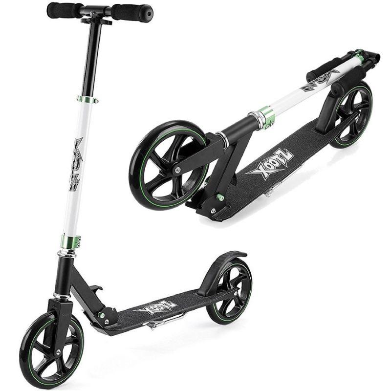 B-STOCK Xootz Large Wheeled Scooter - Black